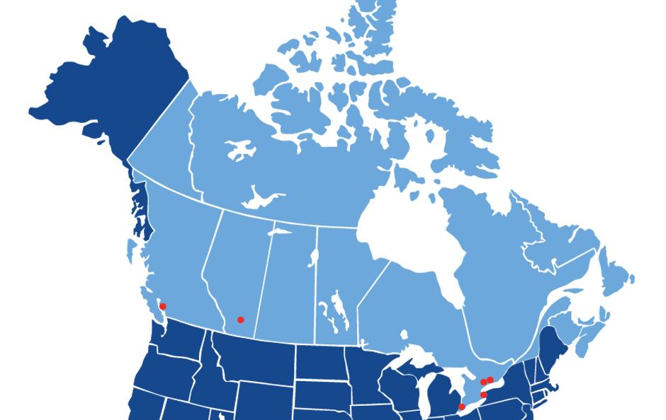 FullMast clinics maps